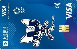 上海银行东京奥运会主题信用卡